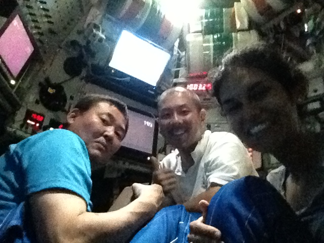 The pilots and I sneaking a cheeky selfie! Photo credit: Diva Amon.