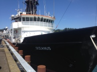 R/V Oceanus. Photo credit: Diva Amon