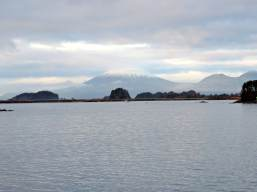 Mount Edgecumbe, a dormant volcano