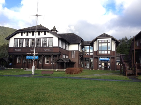 The Sheldon Jackson campus where most of the events in Sitka WhaleFest were held.